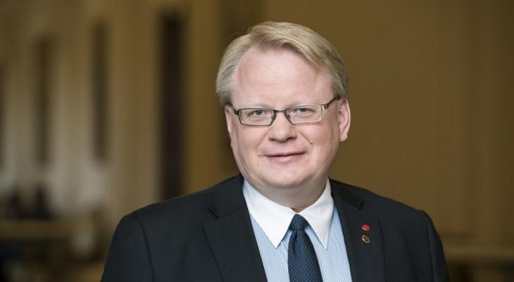 Министр обороны Швеции Питер Хултквист