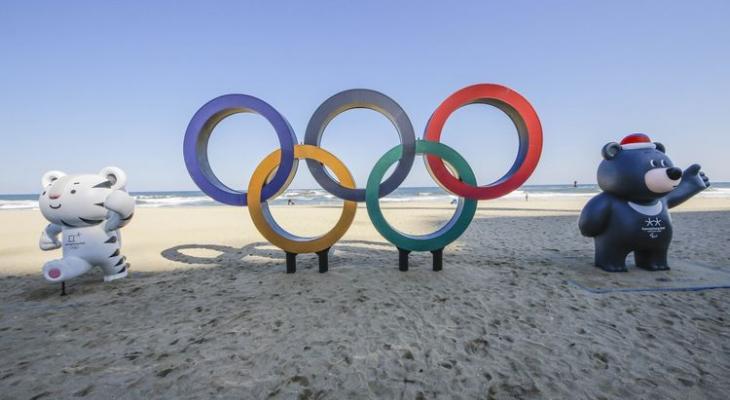 символ Олимпиады-2018 в Южной Корее