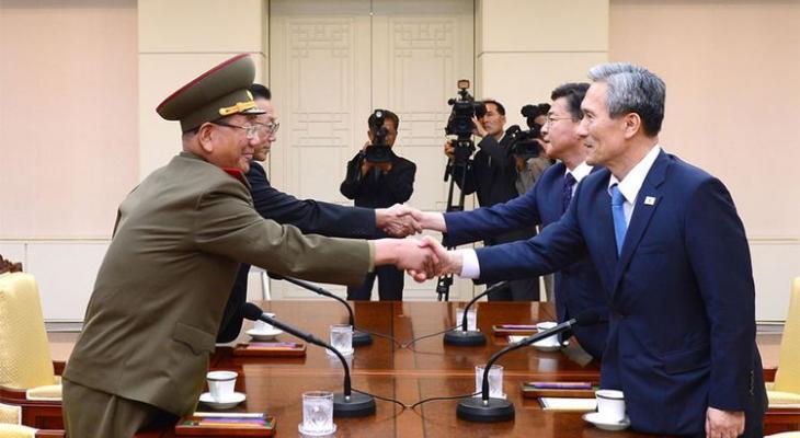 переговоры между Сеулом и Пхеньяном
