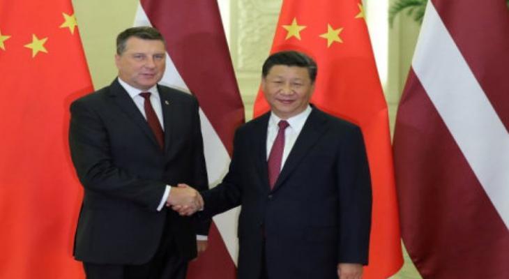 Президент Латвии предложил Китаю открыть выход в Балтийское море через Ригу