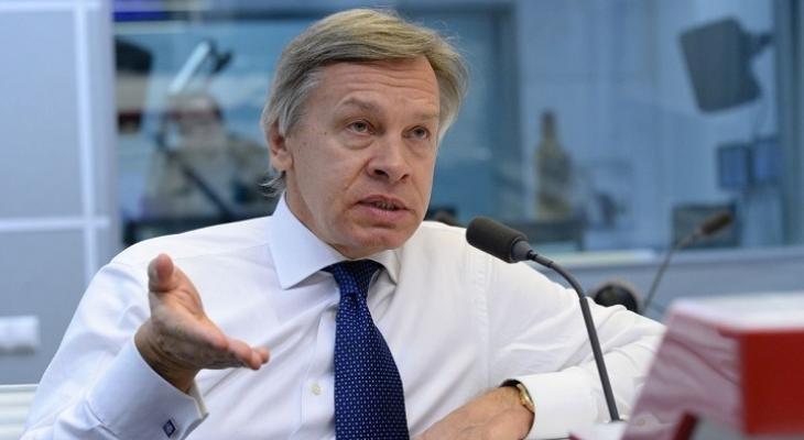 """Пушков высмеял президента Литвы из-за слов о """"нападении Москвы"""""""