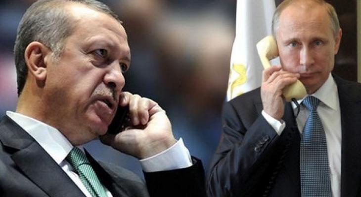 Главы России и Турции в хоте телефонных переговоров сошлись во мнении, что огонь в сирийском Алеппо должен быть прекращен.