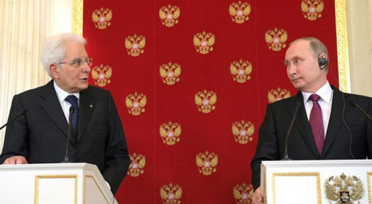 Путин и Маттарелла