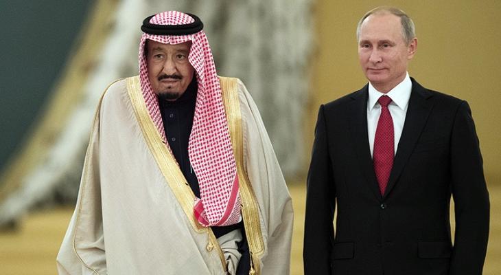 Путин и король Сальман