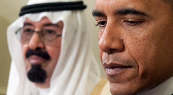 Барак Обама в Саудовской Аравии
