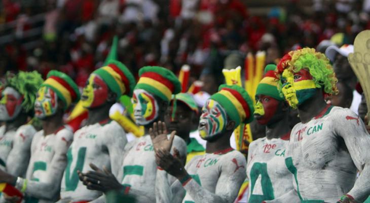 Болельщики из Сенегала