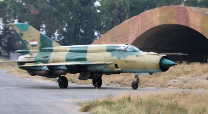 Самолёт Сирии