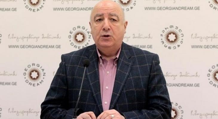 Председатель грузинского парламента по внешним связям Тедо Джапаридзе