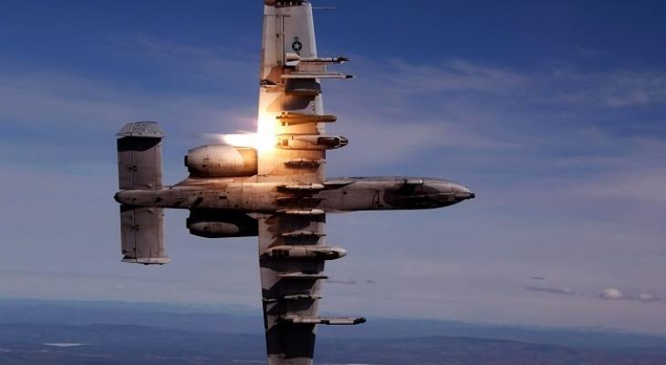 Штурмовик США A-10 Thunderbolt