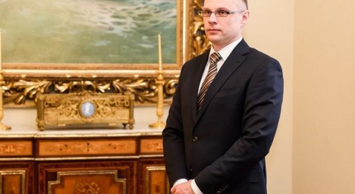 Глава МВД Литвы Томас Жилинскас