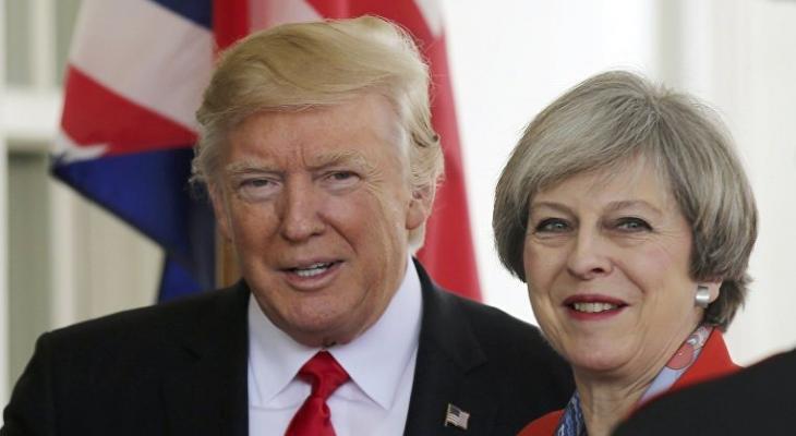 Визит Мэй к Трампу поставил Великобританию в сложное положение
