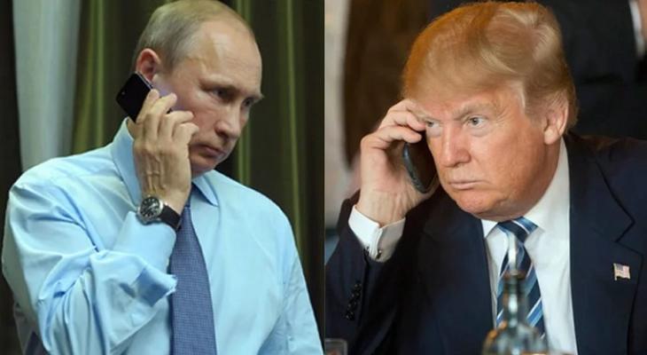 Президент России В.В. Путин и президент США Д.Трамп