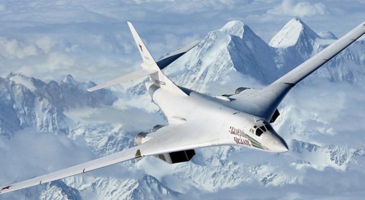 Самолёт ТУ-160