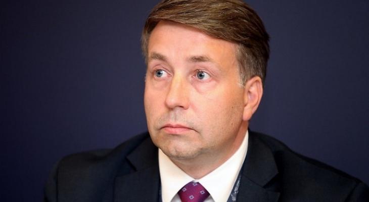 Министр сообщения Латвии Улдис Аугулис