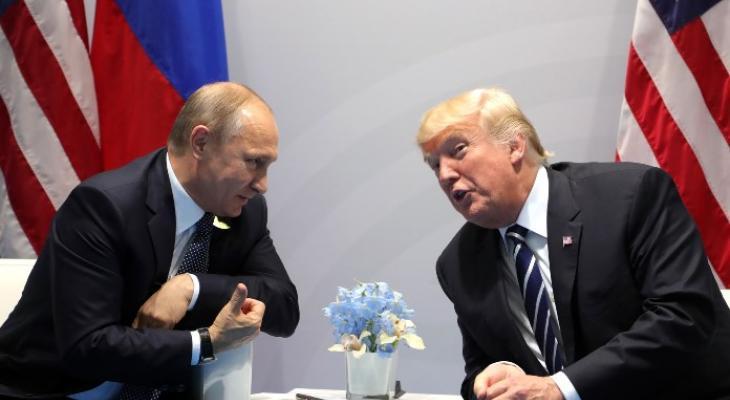 """""""Тайная встреча"""" Путина и Трампа"""