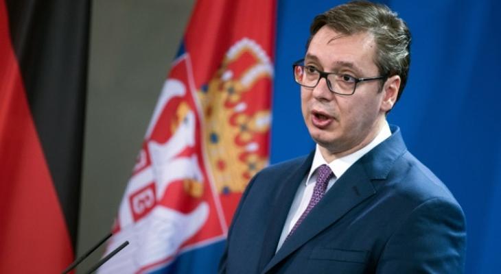 Премьер Сербии Александр Вучич