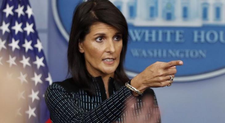 Н. Хейли назвала виновных в выходе США из Совета ООН