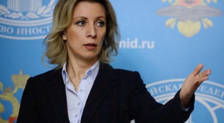 """Захарова """"перевела"""" обращение главы НАТО к Трампу"""